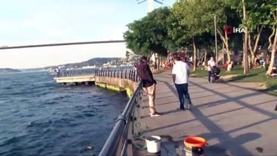 Galatasaray bayrakları köprülere asıldı