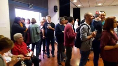 lyon -  - İspanya Avrupa Parlamento Seçimleri İçin Sandık Başında Haberi