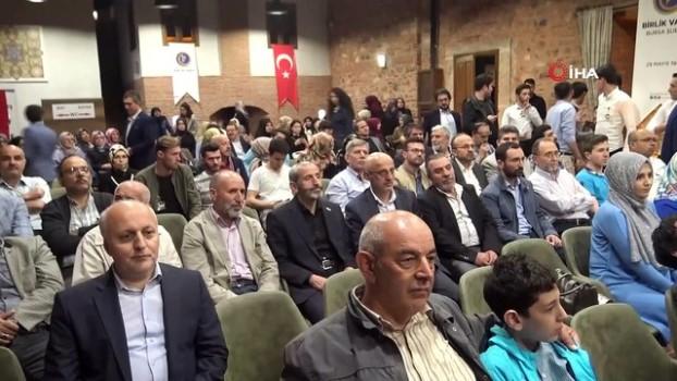 sayilar -  Numan Kurtulmuş Birlik Vakfı iftarına katıldı