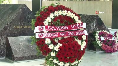 27 Mayıs'ın yıl dönümünde Adnan Menderes ve bakanlar anıldı