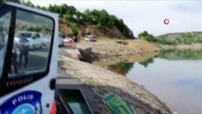 Barajda boğulan gencin cesedi bulundu