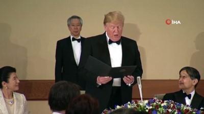 - İmparatordan Trump Onuruna Özel Davet - Japonya İmparatorluk Sarayı'nda Buluştular