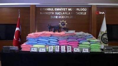 İstanbul'da 1 milyon 800 bin adet uyuşturucu hap ele geçirildi