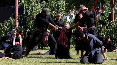 cinayet - Kamboçya soykırımının 40'ıncı yıl dönümü törenlerinde katliam canlandırıldı