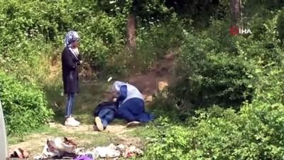 Alibeyköy barajında serinlemek için suya giren iki çocuk kayboldu