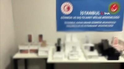 elektronik esya -  İstanbul Havalimanı'nda 9 milyon liralık kaçak cep telefonu operasyonu