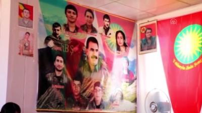 PKK'nın Sincar'daki faaliyetleri görüntülendi