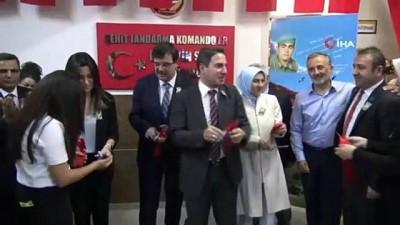 kutuphane -  Şehit babası için okula kütüphane açtı