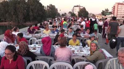 zekat - Türk Kızılaydan Taş Köprü'de iftar - ADANA