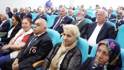 Kıbrıs gazilerine madalya ve beratları verildi - ERZİNCAN