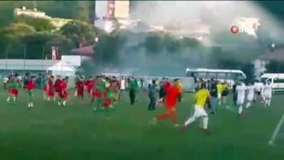 biber gazi - U19 Türkiye Şampiyonasında saha karıştı