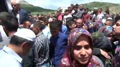 Baraj faciasında ölen işçi son yolculuğuna uğurlandı