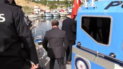 İğneada'da deniz polisinden sıkı denetim - KIRKLARELİ