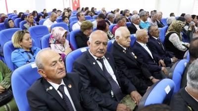 Burdur'da Kıbrıs gazilerine madalyaları verildi - BURDUR