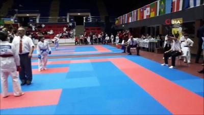 Foçalı minik karateci Kaan, dünya üçüncüsü oldu