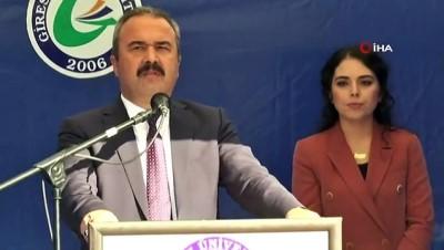 Giresun Üniversitesi Rektörü Coşkun görevinden istifa etti