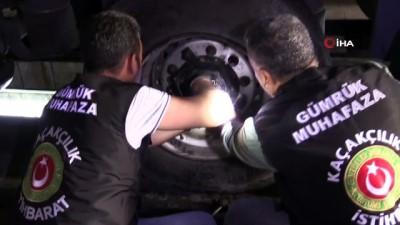 suc duyurusu -  Gürbulak'ta 30,5 kilogram eroin ele geçirildi