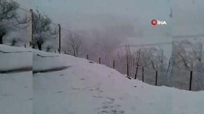 Bingöl'de Mayıs ayında kar yağdı
