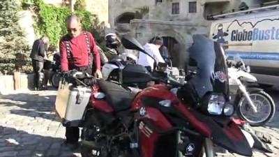 Çin yolculuğundaki motosikletli grup Kapadokya'da mola verdi - NEVŞEHİR