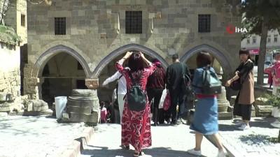 Çinliler ilk kez Kapadokya'da ayin yaptı