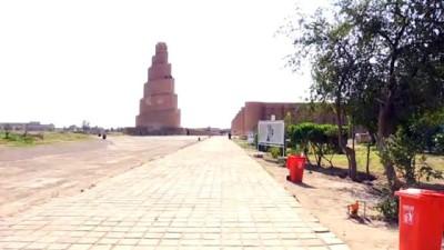 iklim degisikligi - Irak'ın bin yıllık tarihi Melviye minaresi çökmek üzere (1) - SAMARRA