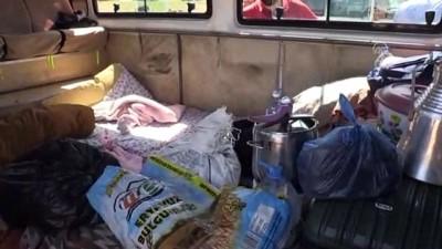 tarim iscisi - Mevsimlik tarım işçilerinin zorlu yolculuğu - ŞANLIURFA
