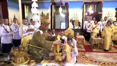 - Tayland Kralına Törenle Taç Giydirildi - Taç Giyme Töreni 3 Gün Sürecek