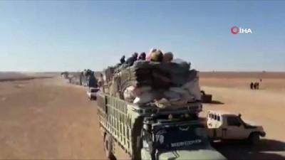 sivil savunma -  - Yeniden Yollara Düşen Hama Ve İdlib'deki Mülteciler Bm'yi Göreve Çağırdı