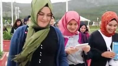 Burdur Gölü'nün kurumasına dikkat çektiler - BURDUR