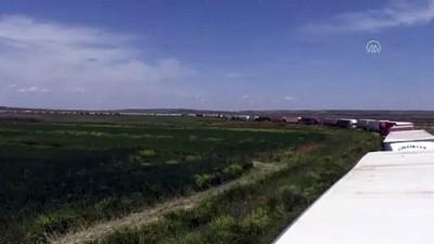 Çobanbey Sınır Kapısı'nda yoğunluk - KİLİS