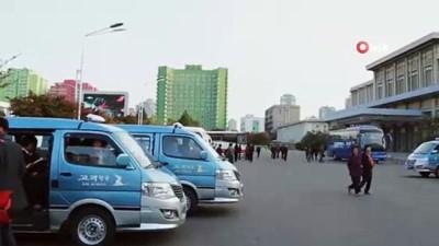 roketatarlar -  - Kuzey Kore lideri Kim füze denemesini izledi