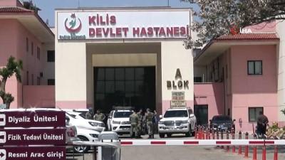 2'nci Ordu Komutanı Sinan Yayla Suriye sınırında yaralı askerleri ziyaret etti
