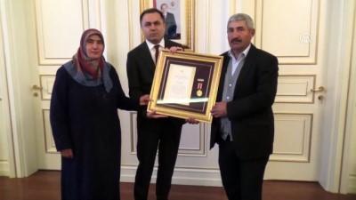 Devlet Övünç Madalyası ve Beratı töreni - YOZGAT