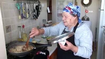Ramazan geldi, 77 yaşındaki Youtuber Saniye Anne kolları sıvadı