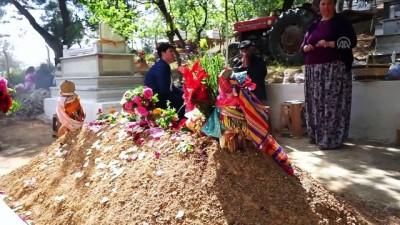baglama - Türkmen mezarlığında 6 asırlık Hıdırellez geleneği - BALIKESİR