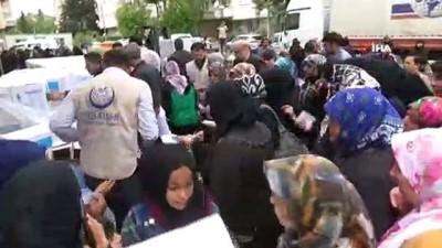 zeytinyagi -  Yedi Başak'tan ihtiyaç sahibi 500 aileye ramazan kolisi