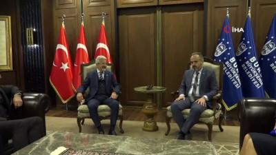 """yerel secimler -  Başkan Aktaş: """"Nilüfer'e katkı koymakta geri durmayacağız"""""""