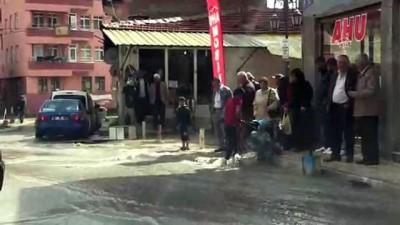 Çorum'da şiddetli yağış hayatı olumsuz etkiledi