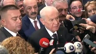 bassavci -  MHP Genel Başkanı Bahçeli: 'Abdullah Gül'ün mesajını okudum, 367 ile ilgili o dönem Yargıtay başsavcısı ile aynı çukura girmeleri inandırıcı değil'