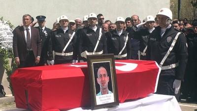 Şehit polis memuru Ateş için tören - BAYBURT