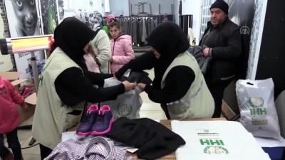 İHH'dan bin kişiye kıyafet yardımı - KASTAMONU