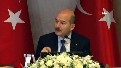 kacak gocmen -  Bakan Soylu, Başakşehir'de muhtarlarla bir araya geldi