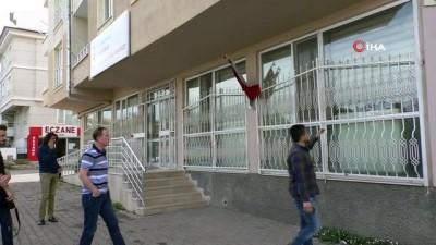 Sivas'ta Aile Sağlığı Merkezi kurşunlandı
