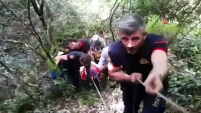 ormanli -  Ağaçtan düşen vatandaş uçurumdan 80 metre aşağı yuvarlandı