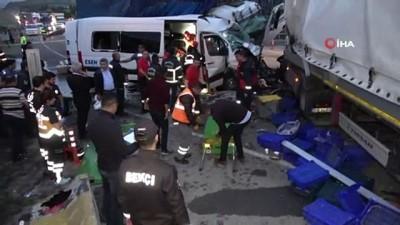 Feci kazada ölen ve yaralanan şahısların kimlikleri belli oldu