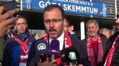 """- Gençlik ve Spor Bakanı Mehmet Muharrem Kasapoğlu: """"Gençlerimiz bizlere gelecek için ümit verdi"""""""