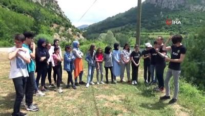 yabanci dil -  Liseli gençler  Bafra'yı dünyaya Türkçe ve İngilizce tanıtacak