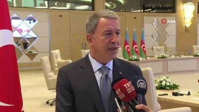 """- Milli Savunma Bakanı Akar'dan Abd'nin S-400 Mektubuna Tepki - Milli Savunma Bakanı Hulusi Akar: """"gerekli Cevabı Hazırlıyoruz"""""""