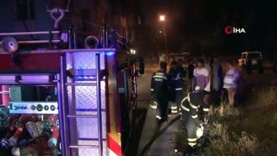 mustakil ev -  2 katlı müstakil ev alev alev böyle yandı: 6 çocuk dumandan etkilendi