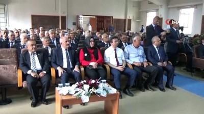 uzun omur -  Karaman'da 57 Kıbrıs gazisine 'Milli Mücadele Madalyası' verildi